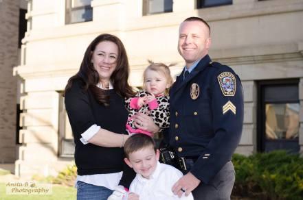 Dan Kaiser and family